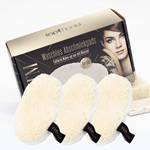 waschies® Faceline waschbare Abschminkpads pearl /