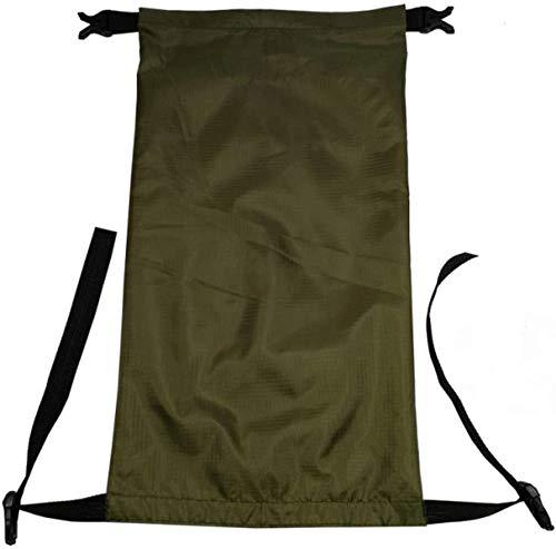 CoolStory 2019 Outdoor Waterproof Swimming Bag Bucket Dry Sack Storage Bag Rafting Sports Travel Waterproof Bag,ArmyGreen,5L