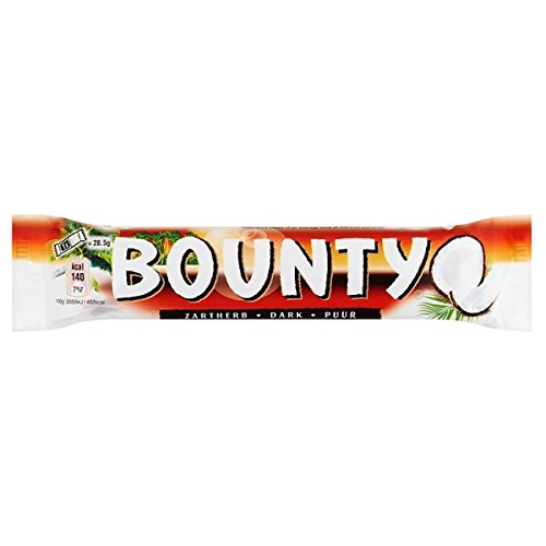 Bounty Dark 2 X 28.5 g (57 g) (Pack of 24 x 57g)