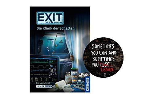 Collectix EXIT - Das Buch: Die Klinik der Schatten (Taschenbuch) + Exit-Sticker. Der...
