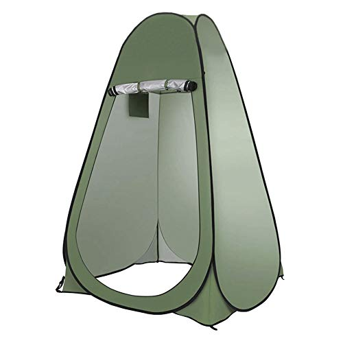 Pop Up Tent Beach Camping Tent Outdoor bathing tent, changing clothes, thickening, warmth, rural bathing, household shower cover, mobile toilet, bathroom Foldable Outdoor UV Lightweight Waterproof ten