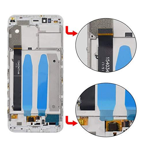 Para Xiaomi Mi A1 / Mi 5X Pantalla LCD de vidrio Pantalla táctil ...