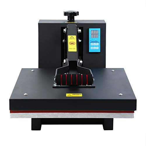Ridgeyard Profesional prensa de calor camisetas prensa termica para sublimacion 38cm x 38cm 0-250℃ heat press 220V
