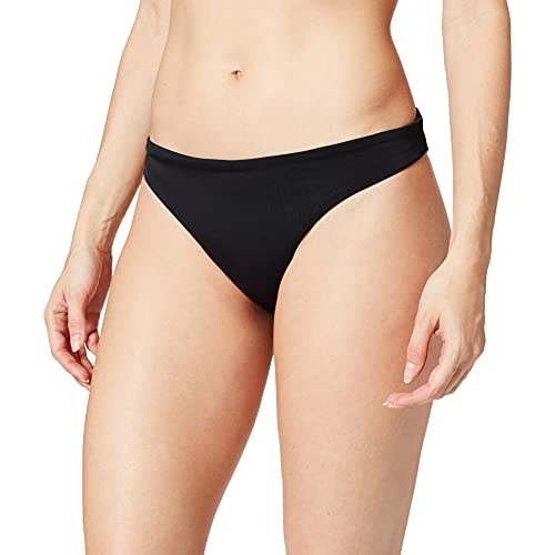 Superdry Classic Bikini Brief Juego Biquini, Negro, M para Mujer