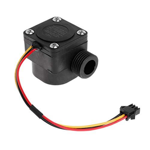 Qiman G1 / 2 1-30L / Min DC5V Wasserdurchflusssensor Durchflussmesser Hall Durchflusssensor Wassersteuerung 1.75MPa Zählerschalter Für Arduino