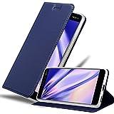 Cadorabo Funda Libro para Nokia 6.1 2018 en Classy Azul Oscuro - Cubierta Proteccíon con Cierre...