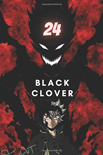black clover 24: Notebook black clover vol 24