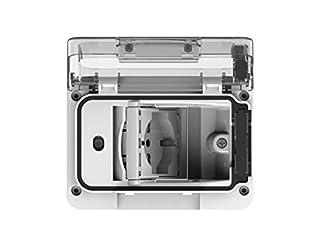 scheda wide ip55 completa di schuko bivalente colore bianco per scatola da incasso tipo 503
