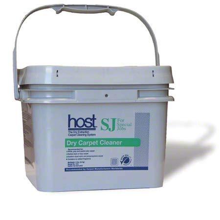 Host Dry Carpet Cleaner SJ for Special Jobs - 12 lb Bucket, 4 Buckets/Case