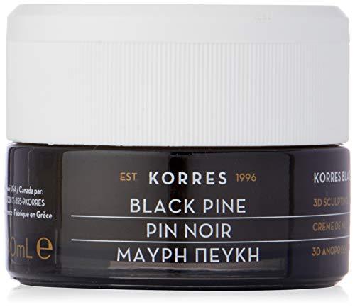 Korres Black Pine 3D Nachtcreme für alle Hauttypen,1er Pack (1 x 40 ml)