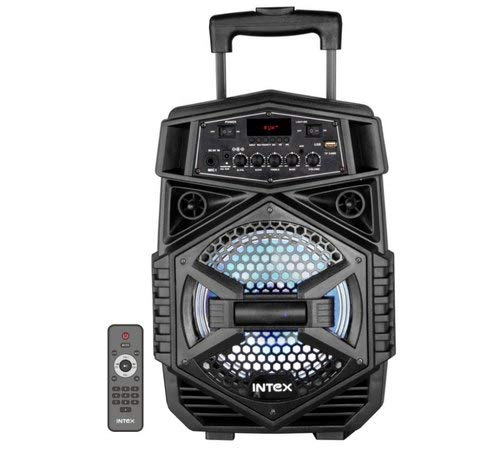 Intex T-200 Trolley Speaker Portable Wireless Bluetooth DJ Party Speaker with LED...