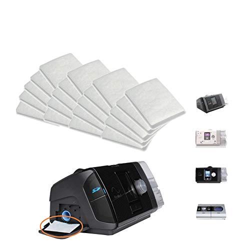 starter 20 STÜCKE CPAP-Filter Für Resmed Airsense® Premium-Einweg-Universal-Ersatzfilter CPAP-Filter Für AirSense 10, AirCurve 10-S9-AirStart-Serie CPAP-Geräte