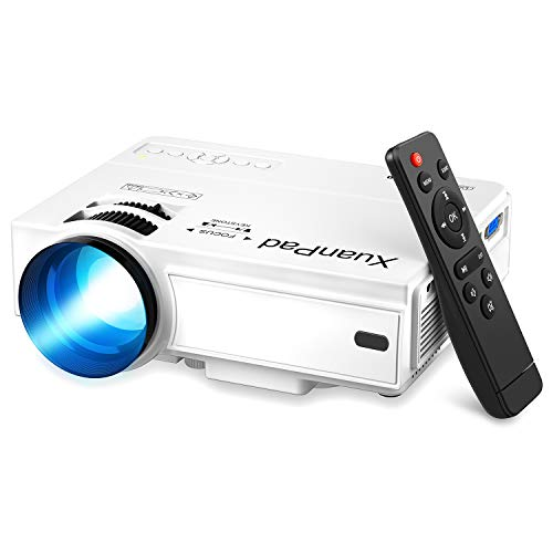 XuanPad Proyector, 2020 Mini Proyector Multimedia Vídeo...