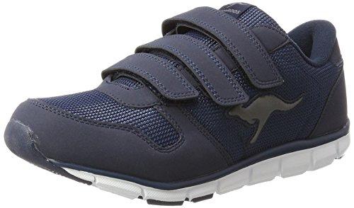 KangaROOS Unisex-Erwachsene K-BlueRun 701 B Sneaker, Dark Navy/Mid Grey 0423, 39 EU