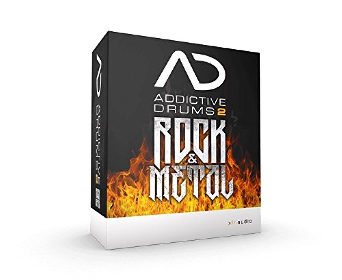 玉窒息させる暖かくXLN Audio Addictive Drums2 Rock & Metal ドラム音源 【ダウンロード版】 XLNオーディオ