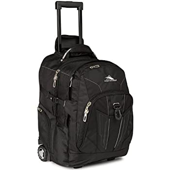 High Sierra XBT - Business Rolling Backpack Black One Size