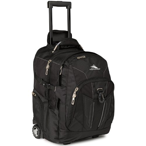 High Sierra XBT - Business Rolling Backpack, Black, One Size