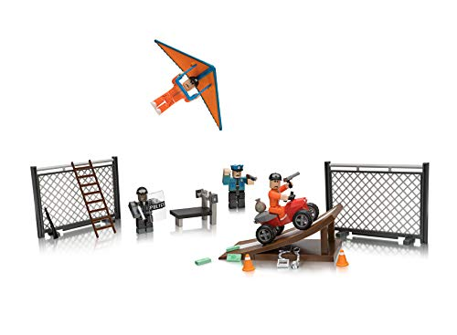 Roblox Action Collection - Jailbreak: Great Escape Playset [Includes Exclusive Virtual Item]
