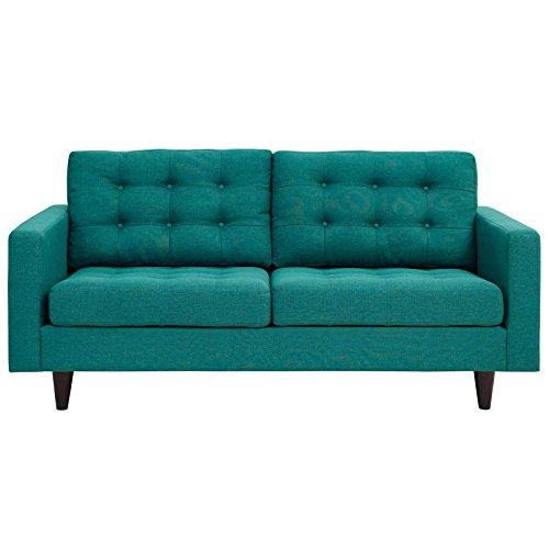 TITLE_Modway Empress Mid-Century Modern Upholstered Fabric Loveseat