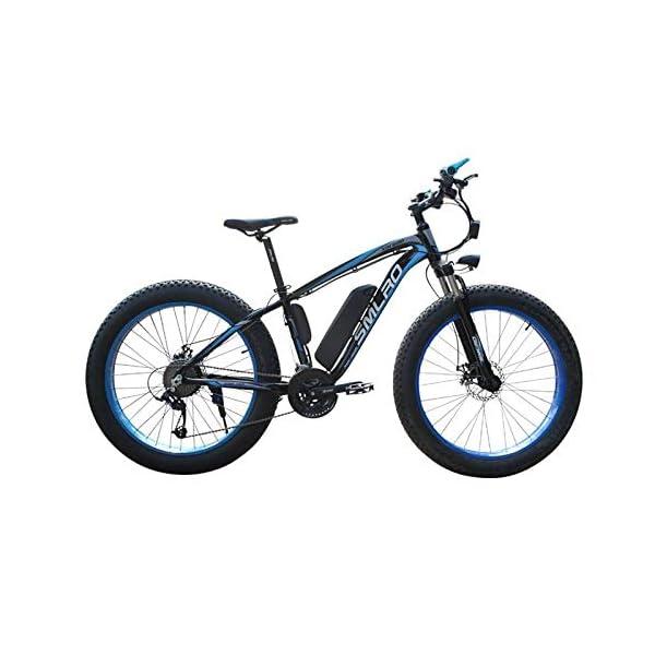 Electric Bikes Minkui E-Bike 48V 350W/500W1000W Motor 13AH Lithium Battery Electric Bicycle 26 inch Fat Tire Electric Bike [tag]