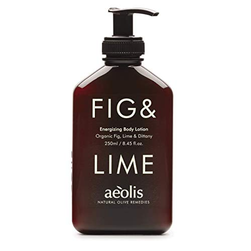 AEOLIS Skincare   FIG&LIME Energizing Body Lotion   Feige, Limette & Diptam   Belebt und erfrischt die Haut   100{a8cedf1973a688c6fdbf47f205e3be99e1ad0286d8a862cdceea204308566d1f} natürlich & nachhaltig   Ohne künstliche Zusätze (Fig&Lime, 250ml)