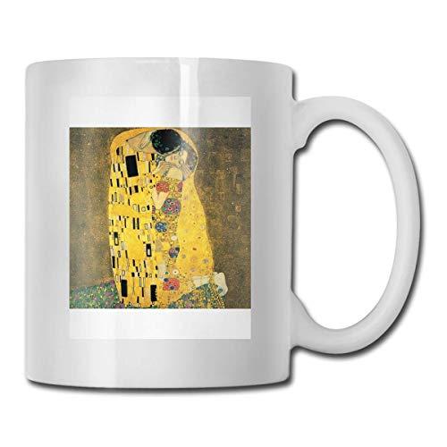 N\A El Beso - Vasos de Cerámica Gustav Klimt Código 330ml
