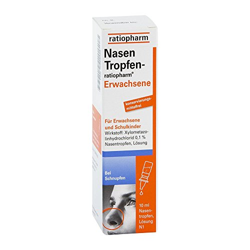 NasenTropfen-ratiopharm Erwachsene, 10 ml Lösung
