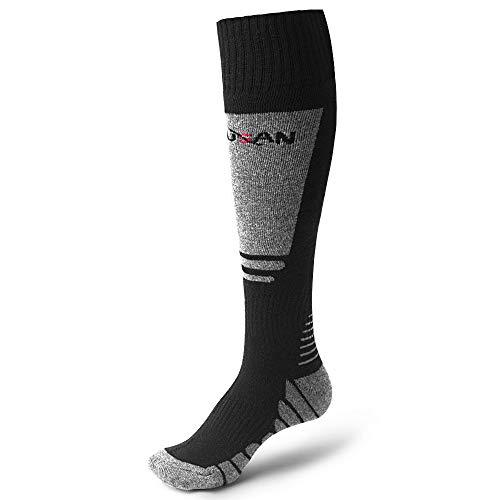 MUSAN Wool Ski Socks, Extra Warm Performance Knee High Outdoor Snow Skiing/Hiking/Trekking...