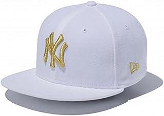 ニューエラ キッズ 9FIFTY スナップバック 11433963 ホワイト/ゴールド ニューヨーク・ヤンキース NewYork Yankees white/gold NY KIDS