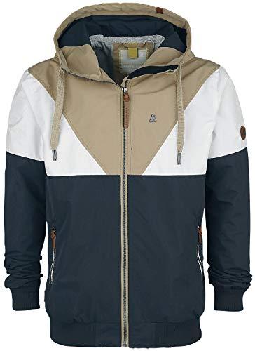 Alife and Kickin JackAK Jacket Männer Winterjacke Navy/beige XL 100{f83f2043f71bded1469f14e1ae38309b1a758bc641fc1a0655b4bd1a614b14f4} Polyester Streetwear
