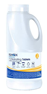 Kem-Tek 1-Inch Chlorinating Tablets for Pool and Spa