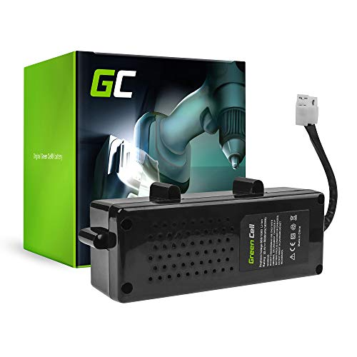 GC® (5Ah 32.4V Li-Ion Zellen) Akku für Bosch Indego 1200 Connect Werkzeug, Gartengeräte Ersatzakku