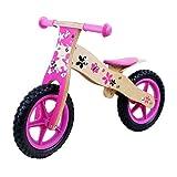 Bicicletas sin pedales Training Running Bicicleta Ligero Balance Infantil for Niños Walker de Madera Bicicleta Cochecito for Niños Slide Car ( Color : Pink )