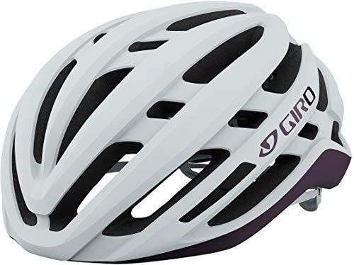 Giro Agilis MIPS Damen Rennrad Fahrrad Helm weiß/lila 2021: Größe: S (51-55cm)