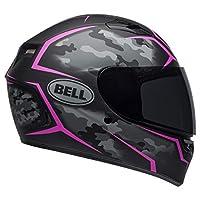 BELL Qualifier Helmet - Stealth Camo (Medium) (Matte Black/Pink)