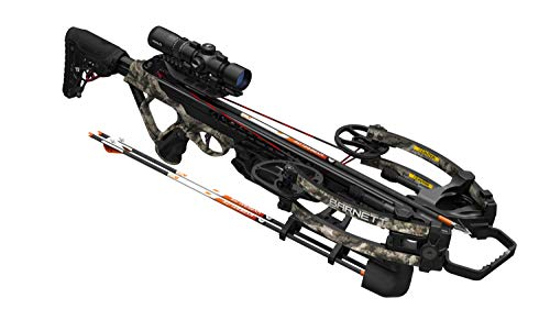 Barnett HyperTac 420 Crossbow | Lightweight & Ultra-Compact Crossbow Shooting 420 Feet Per Second