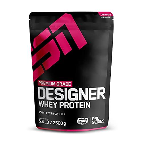 ESN Designer Whey Protein Big Pack, Vanilla Ice Cream, 2500g, Eiweißpulver
