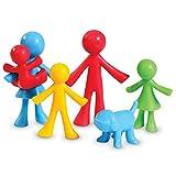Learning Resources- Figuras de la Familia All About, Bolsa de 24, Color (LER3660) , color, modelo surtido
