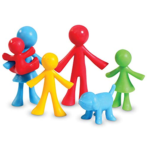 Learning Resources LER3660 All About Me Spielfiguren Familie (24 Stück),