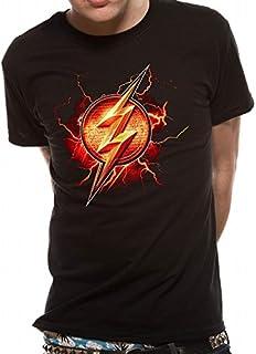 T-Shirt (Unisex-Xl) Flash Symbol (Black)