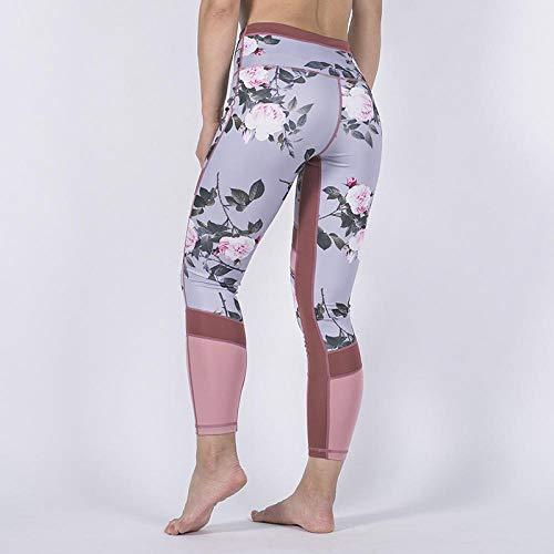RRUI vrouwen sport panty's Tights taille luipaard print mesh broek yoga broek vrouwen leggings vrouwen broek