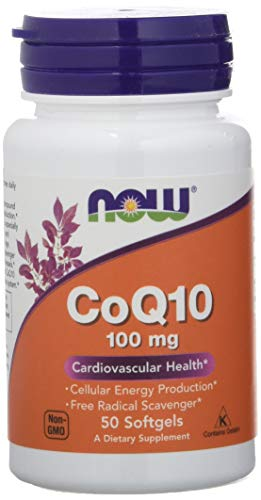 Now Foods CoQ10 Softgels - 50 Cápsulas