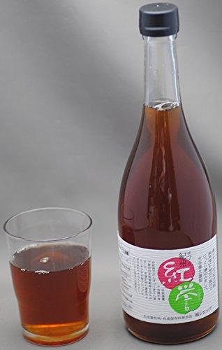 和歌山産 有機栽培 南高梅 使用 梅シロップ 720ml 『紅誉』 合成保存料・着色料 無添加