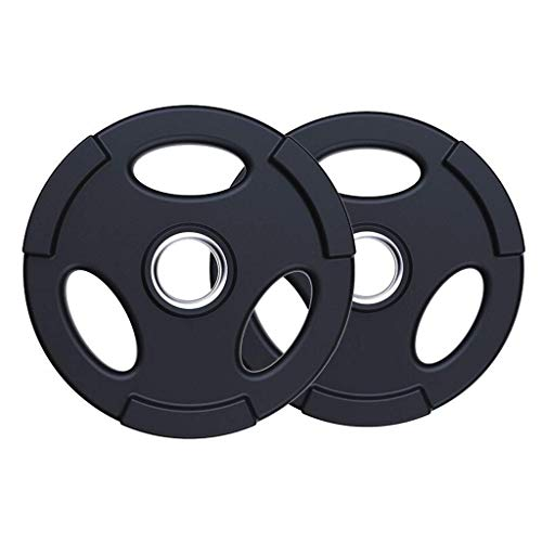 FGVDJ Olympic Plate - Barbell Olympic Grip Plate Weight Plates Standard 2 Exercise Weights Gym Home Fitness Standard Grip Plate