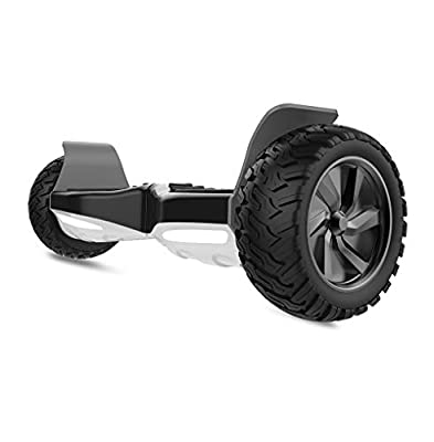 "City Cruiser Hoverboard 8.5"" Off Road All Terrain Self Balancing Scooter UL2272 Certified Hoverboard with Bluetooth Speaker and LED Lights for Adult and Kids"