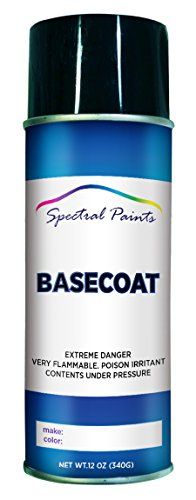 Spectral Paints Compatible/Replacement for Jeep PBQ Steel Blue Pearl 12 oz. Aerosol Spray Paint
