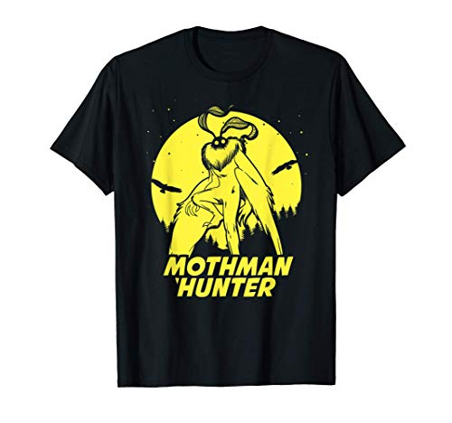 Mothman Hide & Seek Hunter Champion Cryptid T-Shirt