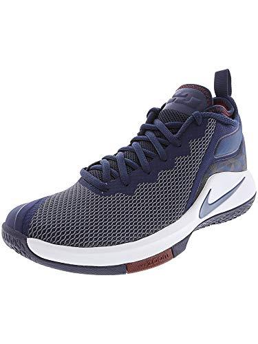 Nike Lebron Witness II - 942518406 - Farbe: Dunkelblau-Weiß - Größe: 44.5