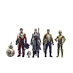 THE RESISTANCE: A small, secretive private military force, the Resistance was founded by Rebel hero Leia Organa to monitor the actions of the First Order CELEBRATE THE SAGA: This special 3.75-inch-scale action figure set 6-pack is inspired by the cha...