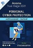 Acronis True Image 2021 – Ciberprotección personal | Copia de seguridad y antivirus integrados | Android/iOS | Standard Perpetual Edition - 3 User | PC/Mac | Código de activación enviado por email